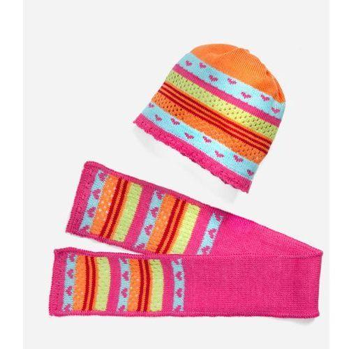 Heless czapka i szalik dla lalek 38-45 cm