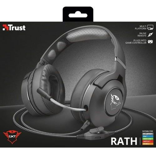 Trust słuchawki gamingowe gxt420 rath (8713439228977)