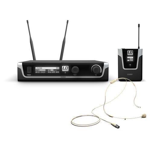 LD Systems U506 BPHH mikrofon bezprzewodowy nagłowny, kolor beżowy