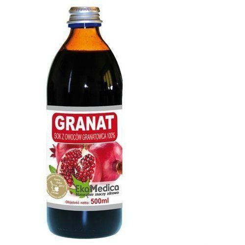 Ekamedica Granat sok 100% (500 ml) (5902596671013)