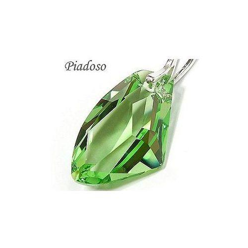 Arande Promocja swarovski piękny wisiorek srebro zielony