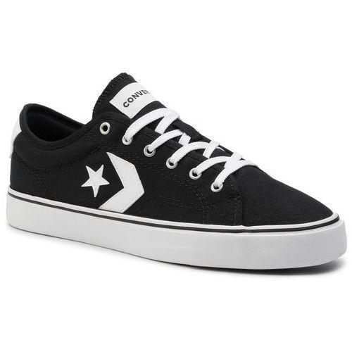 Tenisówki CONVERSE - Star Replay Ox 163214C Black/White/White, kolor czarny