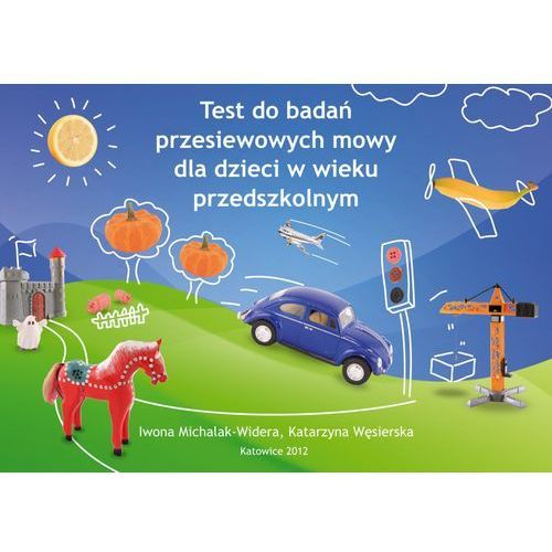 Test do badań przesiewowych mowy dla dzieci w wieku przedsz. (58 str.)
