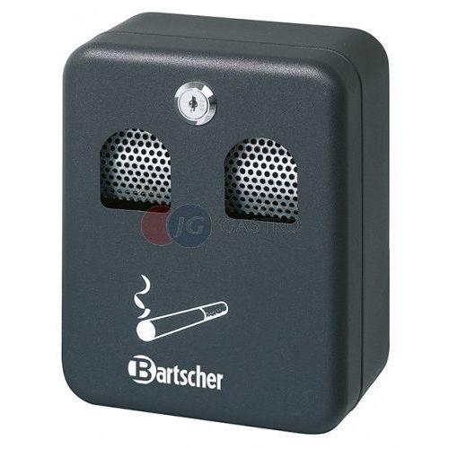 Popielnica ścienna czarna 160x90x200 h Bartscher 860000