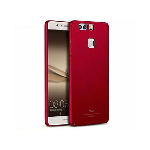 Msvii Etui thin case do huawei p9 czerwone - czerwony