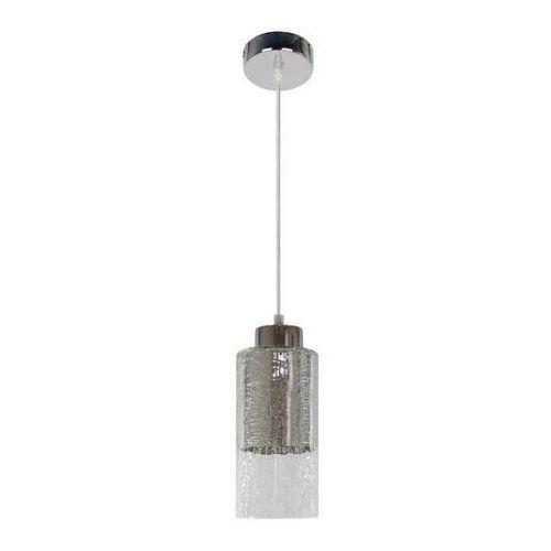 Candellux Lampa wisząca zwis żyrandol libano 10/20 1x60w e27 srebrna 31-51646 (5906714851646)