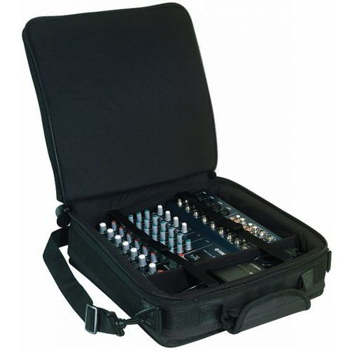 mixer bag black 30 x 30 x 7 cm / 11 16/16 x 11 13/16 x 2 3/4 in marki Rockbag