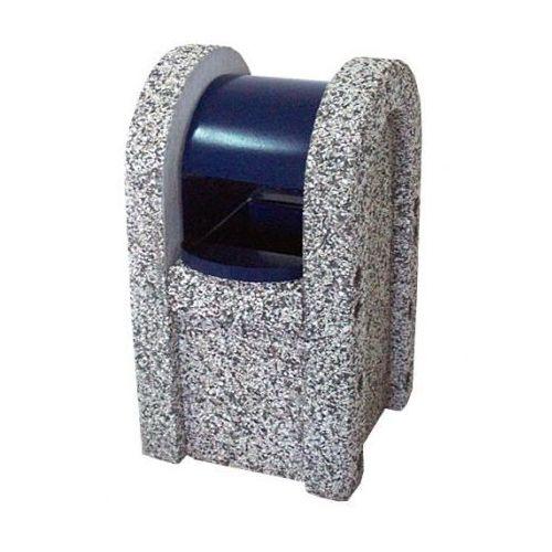Betonowy kosz na odpady