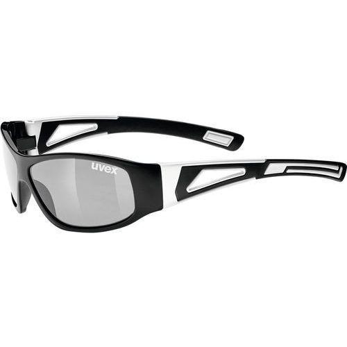 Uvex sportstyle 509 okulary rowerowe dzieci biały/czarny 2018 okulary przeciwsłoneczne dla dzieci
