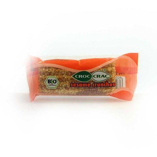 Sezamki pomarańczowe croc crac bio 23g marki Bioveri