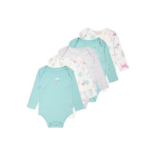 mothercare GIRLS UNICORN BABY 5 PACK Body pastels multicolor, MC409