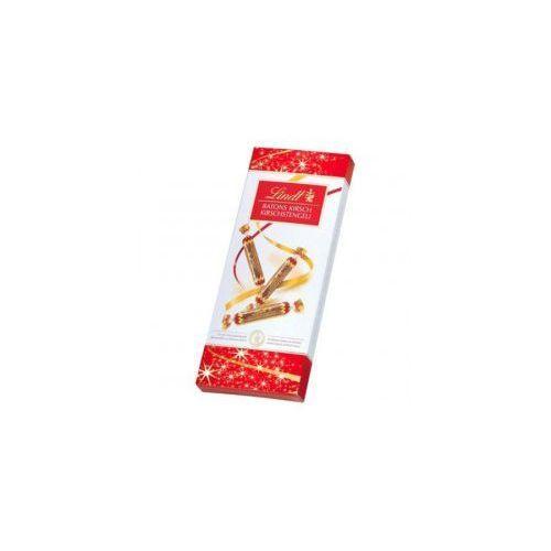 Paluszki z czekolady deserowej z płynnym nadzieniem 125g marki Lindt