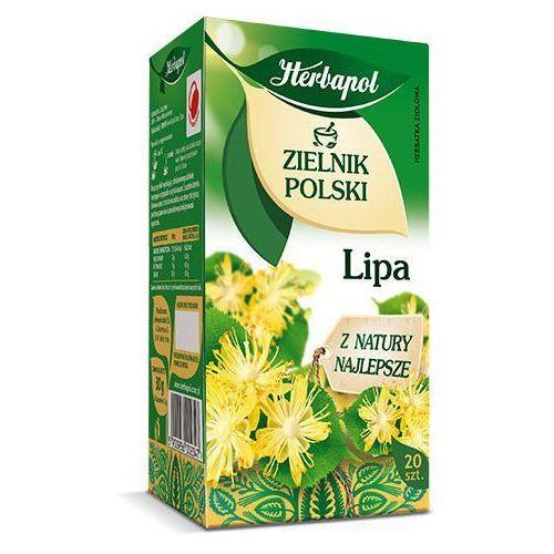 Herbatka ziołowa zielnik polski lipa ex'20 30 g marki Herbapol