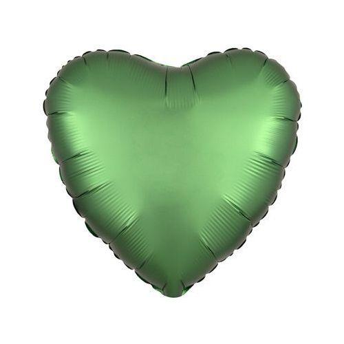 Balon foliowy Serce zielone - 47 cm - 1 szt.