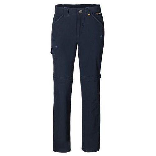 Spodnie SAFARI ZIP OFF PANTS K night blue - 104 (4055001066681)