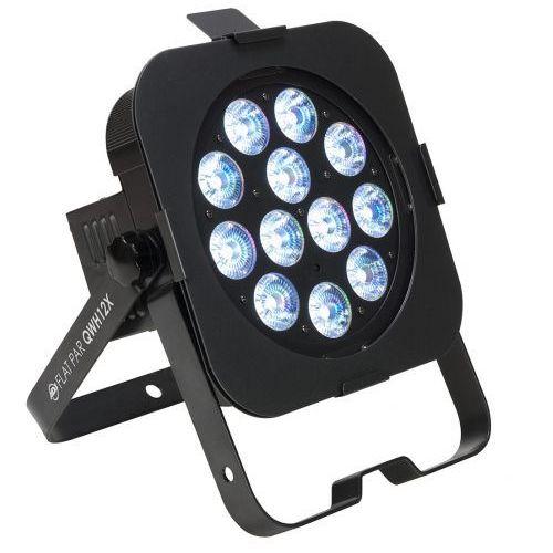 flat par qwh12x - reflektor led rgbw czarny płaski 12 x 5w marki American dj