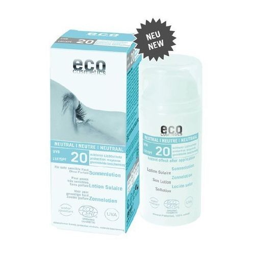 Eco cosmetics Emulsja na słońce lsf/spf 20 neutral 100 ml (4033981742511)