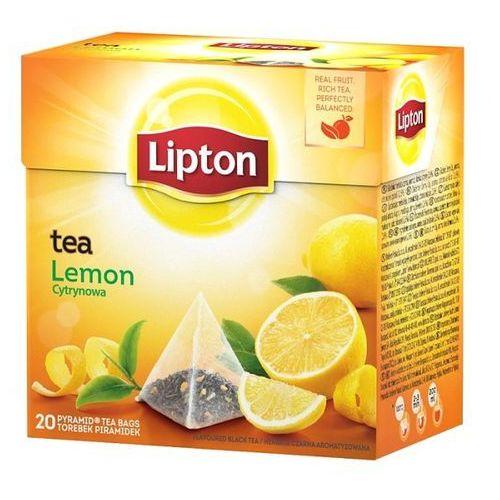 Herbata lemon piramidki (20 saszetek) marki Lipton