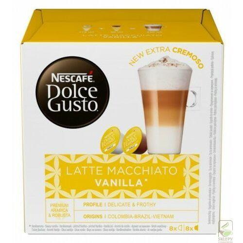 dolce gusto latte macchiato vanilla 16 kap marki Nescafe