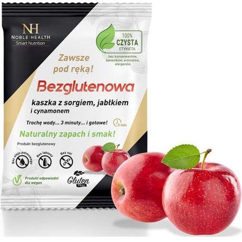 Noble health Kaszka bezglutenowa sorgo jabłko cynamon mieszanka 55g - data ważności 29-09-2018r.