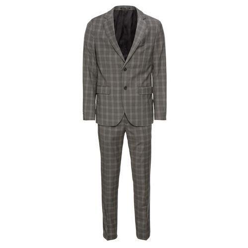 garnitur 'formal check suit' szary marki Pier one