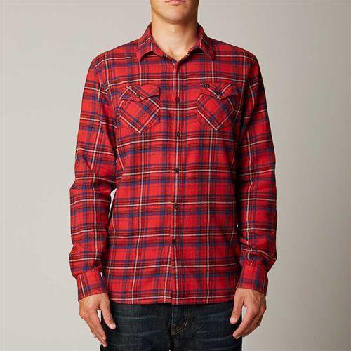 koszule FOX - Nico Red (003) rozmiar: 2X - sprawdź w Snowbitch