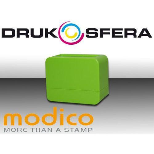 Pieczątka MODICO NOMO 3 1/2 zielona połysk Pieczątka MODICO NOMO 3 1/2 zielona połysk
