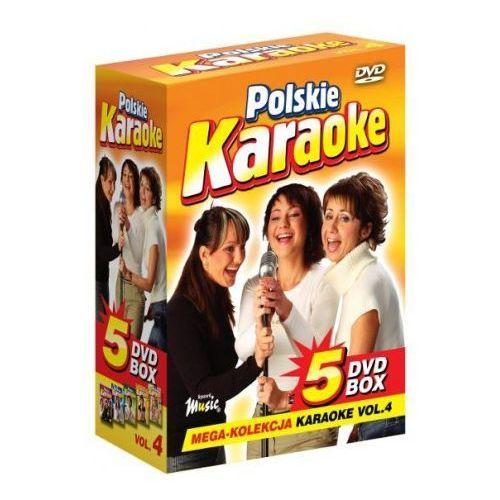 Polskie karaoke vol. 4 - mega kolekcja karaoke (5 płyt dvd) marki Ryszard music