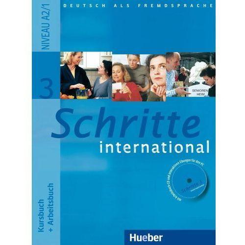 Schritte International 3. Podręcznik z Ćwiczeniami + CD do Ćwiczeń, oprawa miękka