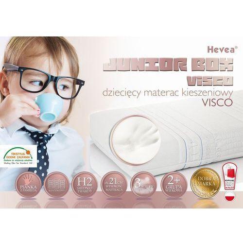 Hevea Materac kieszeniowy junior box visco 180x80