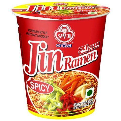 Zupa makaronowa Jin Ramen Spicy w kubku, ostra 65g - Ottogi