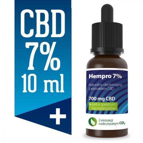 Olejek konopny CBD Hempro 7% 10 ml BIO