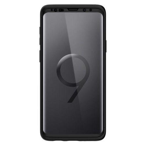 Etui Spigen Thin Fit 360 + szkło Samsung Galaxy S9 Black
