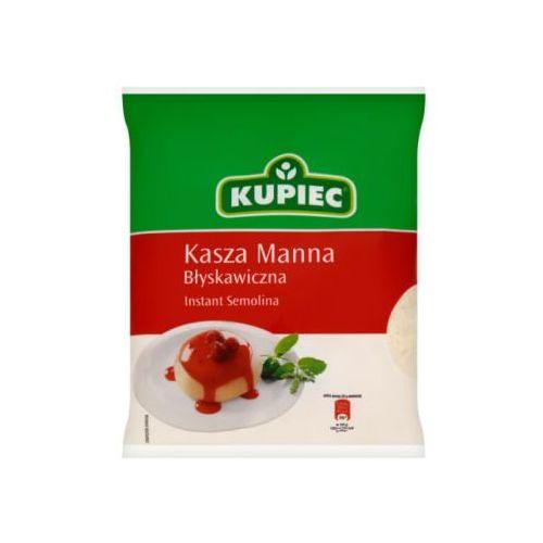Kupiec Kasza manna błyskawiczna 400 g
