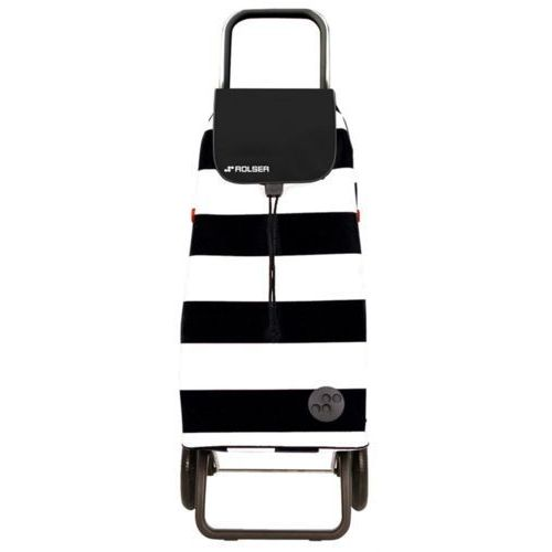 Wózek na zakupy Rolser LOGIC RG Pack Lido Blanco/Negro (wózek na zakupy)