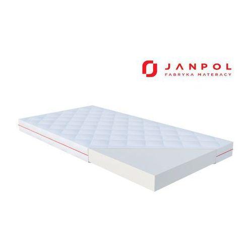 Janpol fini – materac dziecięcy, lateksowy, rozmiar - 60x120, pokrowiec - puroactive najlepsza cena, darmowa dostawa
