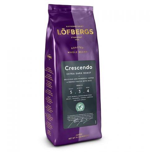 Lofbergs - Crescendo Extra Dark Roast - kawa ziarnista - 400g (7310050012223)
