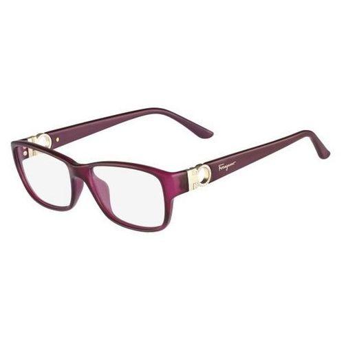 Okulary korekcyjne sf 2666r 525 marki Salvatore ferragamo