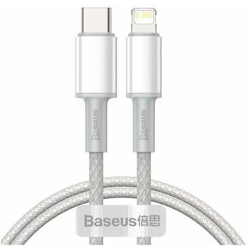 high density braided | kabel type-c lightning power delivery 20w do serii iphone 12 - 1m marki Baseus