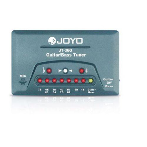 jt 36g - tuner elektroniczny do gitary i basu marki Joyo