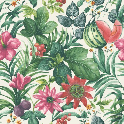 Tapeta ścienna w liście dżungla botanical ba2001 bezpłatna wysyłka kurierem od 300 zł! marki Grandeco