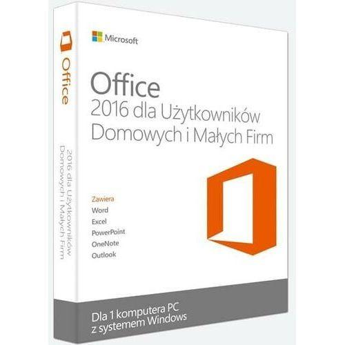 Microsoft Office home business 2016/wersja pl/klucz elektroniczny/szybka wysyłka/f-vat 23% (8719172320480)