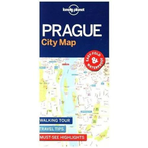 Lonely Planet Prague City Map (2017)
