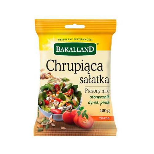 100g chrupiąca sałatka prażony mix słonecznik dynia pinia marki Bakalland