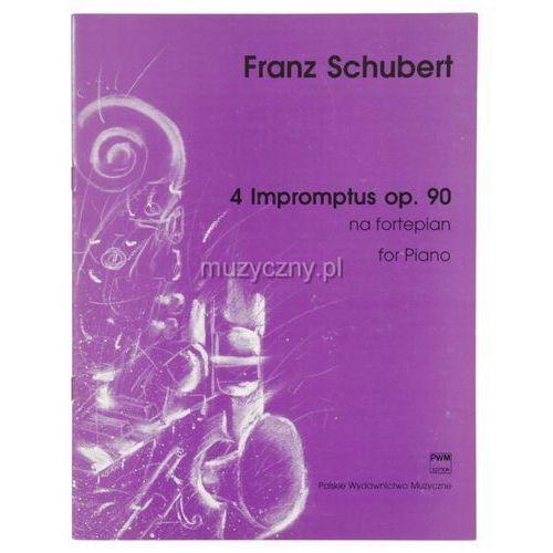 schubert franz - 4 impromptus na fortepian op. 90 marki Pwm