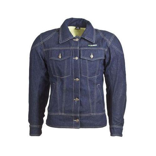 Kurtka motocyklowa damska jeansowa nf-2980, ciemny niebieski, xxl, W-tec