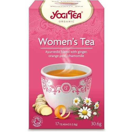 Herbatka dla Kobiet BIO (17 x 1,8 g) Herbata Yogi Tea (4012824401112)