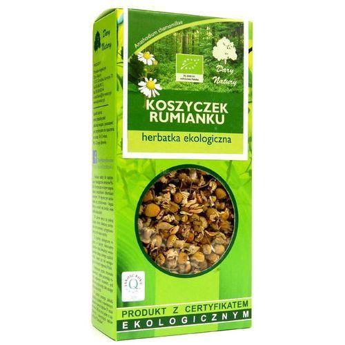 Dary natury - herbatki bio Herbatka z koszyczków rumianku bio 25 g herbata dary natury