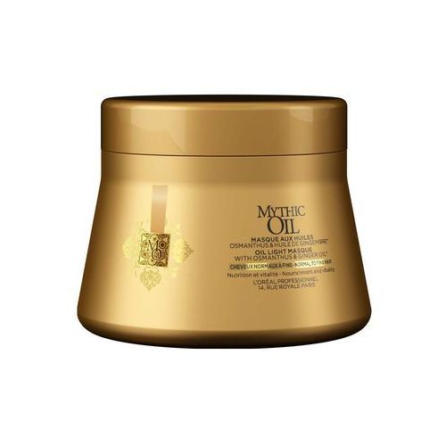 Loréal professionnel mythic oil masque for normal to fine hair marki L'oreal professionnel