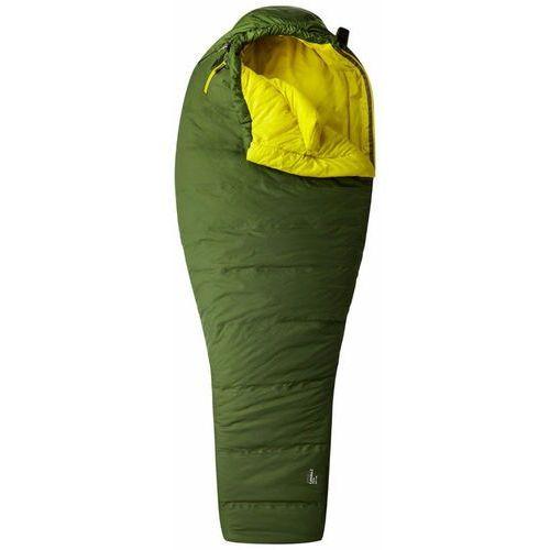 Mountain hardwear lamina z flame śpiwór long żółty/oliwkowy lewe 2018 śpiwory syntetyczne (0887487621016)